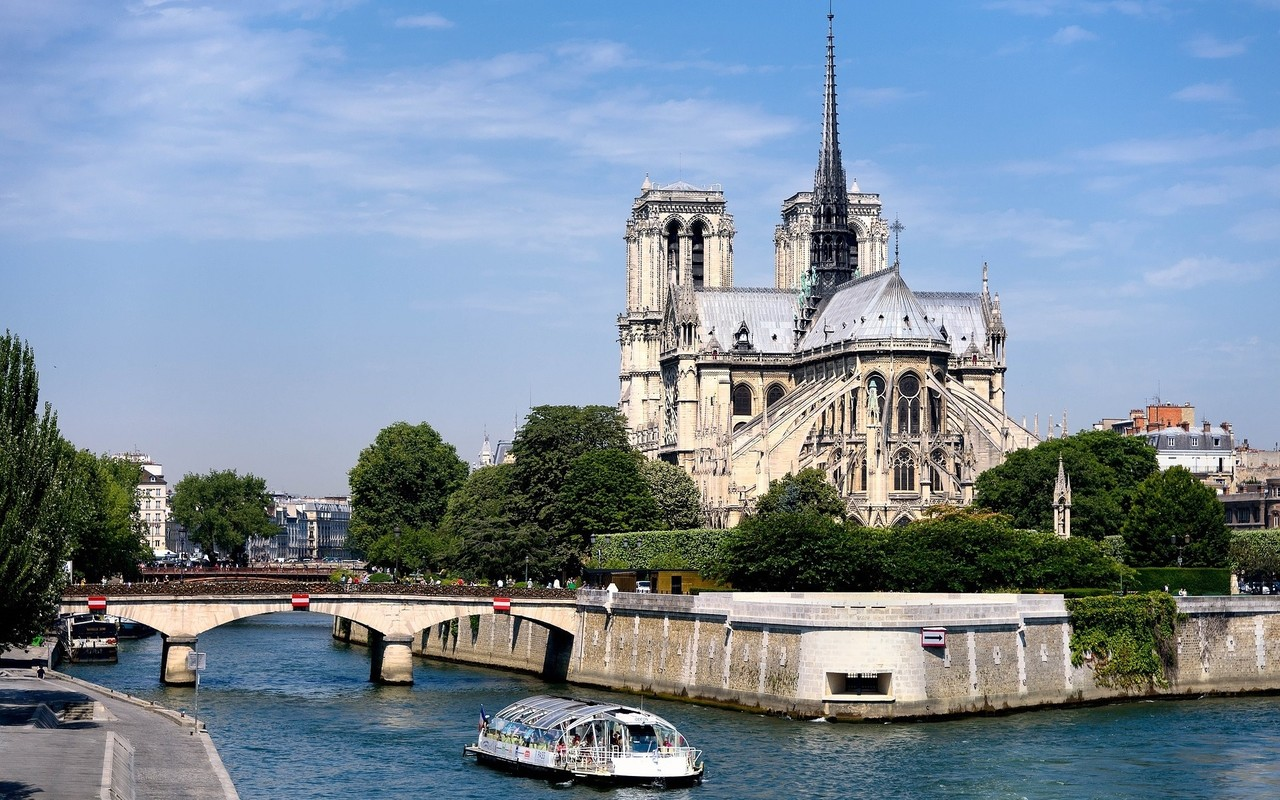 Notre-Dame in Brand