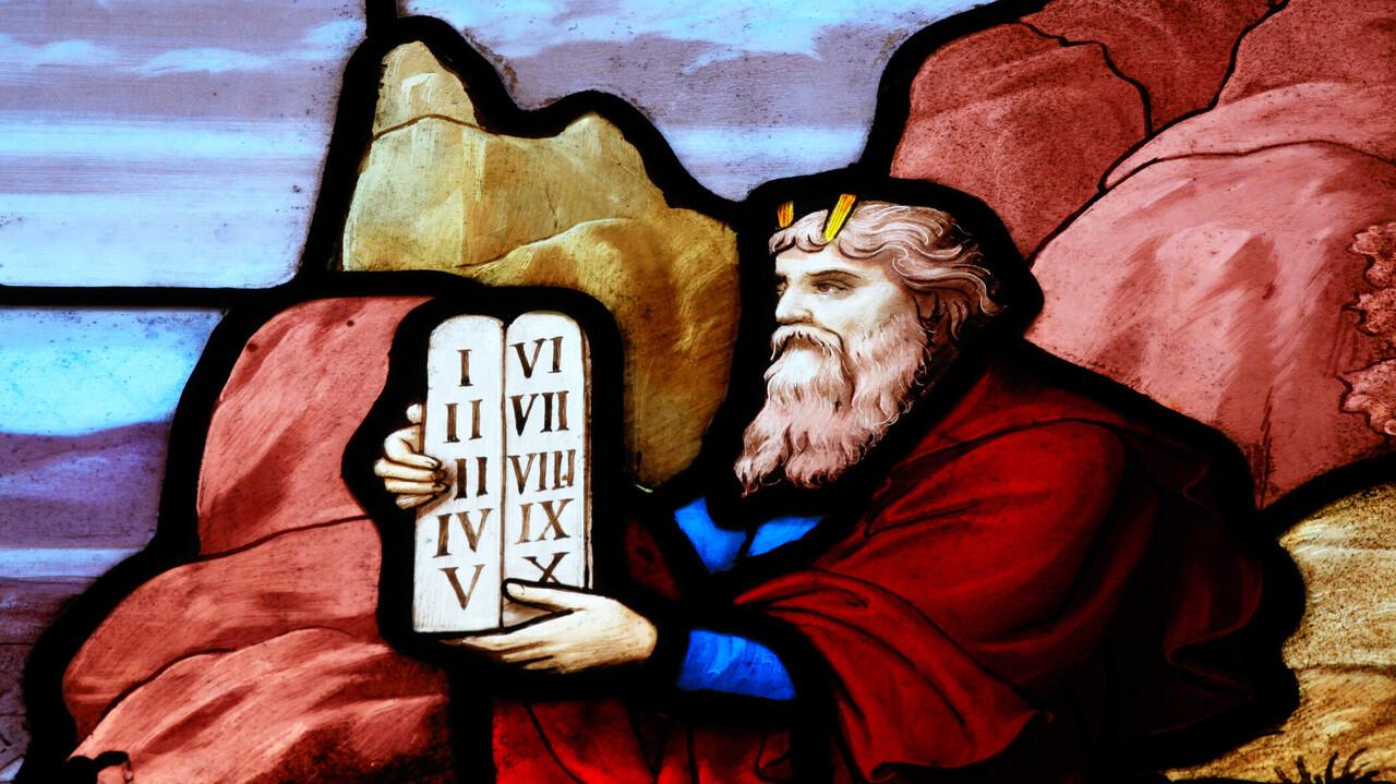Die 10 Gebote Moses